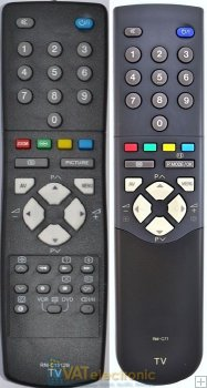 JVC RM-C71 - replacement remote control