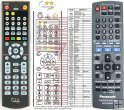 Panasonic N2QAYB000207 replacement remote control