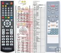 HITACHI AX-M82E remote control replacement