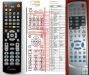 Denver KF-8999A - replacement remote control