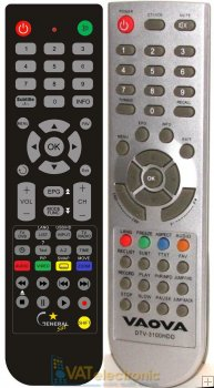 Vaova TV-3100HDD - Replacement remote control