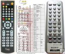Sony - RMT-CDR45D - replacement remote control