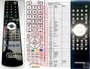 Grundig UMS4700SPCD, UMS4710DEC - replacement remote control