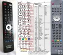 Hitachi CLE-978 remote control replacement
