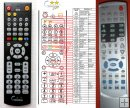Denver - DRS-1400 DRS-1708 - replacement remote control