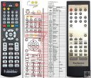 Technics RAK-HDA25WH remote control replacement