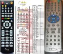 X-SITE XS-668 ID509 - Replacement remote control