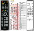Rotel RR-D95, RR-D94, RCD02, RCD06, RCD1070 replacement remote control