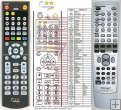 Teac RC-1038 replacement remote control