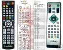 X-SITE XS-DVBT-21USB - Replacement remote control
