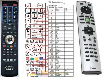 Ione Libra Q11 remote control replacement