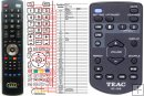 Teac RC-1318 - replacement remote control