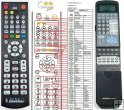 Rotel RR-969 remote control replacement