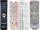 Funai DBVR-5500 remote control replacement