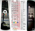 ONKYO RC-315T - replacement remote control