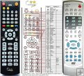 Jamo DVD-TA1500 replacement remote control