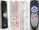 SEG RC-C004 - replacement remote control