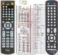 NAD DVD 8 - replacement remote control