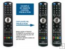 GENERAL DUREMOTE 2 custom made remote control on demand