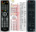 LG 6710CDAQ05G - replacement remote control