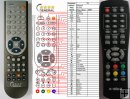 X-SITE XS-DVBT-21USB - Replacement remote control - version 2