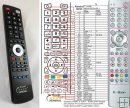 T-HOME Media Receiver 100 - replacement remote control
