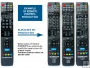 GENERAL DUREMOTE 1 custom made remote control on demand