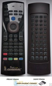 GENERAL MAGIC - original remote control for SMART TV 2nd class value