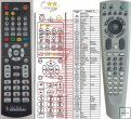 Daewoo DHC-XD300, DHC-XD350 - Replacement remote control