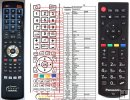 Panasonic 30092556 remote control replacement