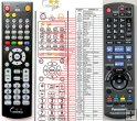 Panasonic N2QAKB000073 - replacement remote control