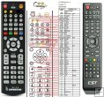 COOLSTREAM ZEE2 remote control replacement