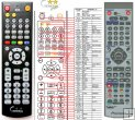 Pioneer AXD7417 - replacement remote control