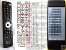 PIONEER GGF1381 - service replacement remote control