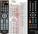 Smart MX Flat HD - replacement remote control