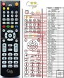 Soundmaster DVD8032 replacement remote control