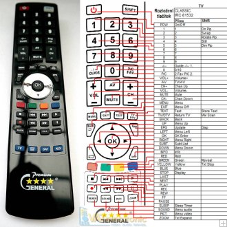 Protek PT-4263SI - replacement remote control