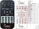 DK DIGITAL AS-200 replacement remote control