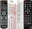 GoGEN DVB 219 T2 remote control replacement
