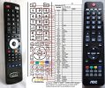 AOC LC32K0D3D - replacement remote control