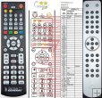 Cambridge Azur 540A, 540A, 640A - replacement remote control