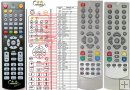 Hitachi DVB4002 a DVB4042HDMI - replacement remote control