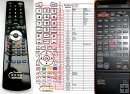 Luxman C-373 - replacement remote control
