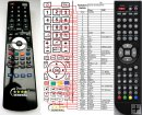 ODYS X810044-07 - replacement remote control