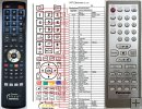 Panasonic N2QAYB000247 remote control replacement