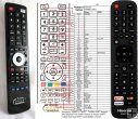 Hisense EN2X27HS - replacement remote control
