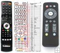 Egreat TVbox-U1 - replacement remote control