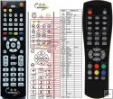 Denver DVB-T42 replacement remote control