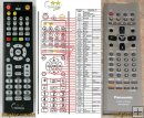 Panasonic N2QAJB000048, N2QAJB000078 - replacement remote contr