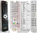 Cambridge Audio Azur 651R - replacement remote control